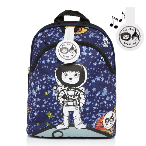 Mini Backpack and Safety Harness / Reins Spaceman (Age 1-4 )-Bag-Babymel-Baby Undercover