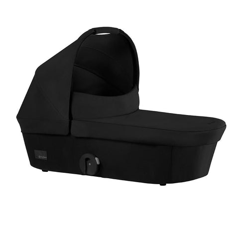 Mios Carry Cot – Stardust Black-Stroller Accessory-Cybex-Baby Undercover