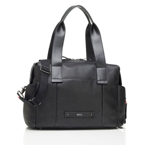 Storksak Kym Leather Black