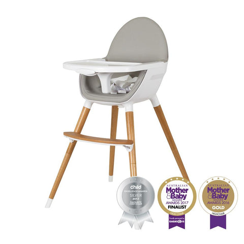 Pod Timber Highchair – Natural-Highchair-Childcare-Baby Undercover