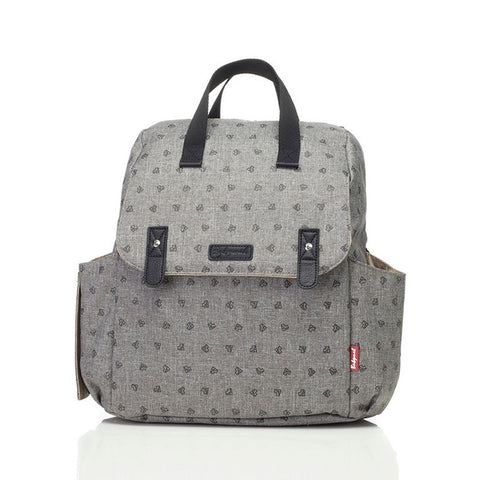 Babymel Robyn Convertible Backpack Origami Heart Grey
