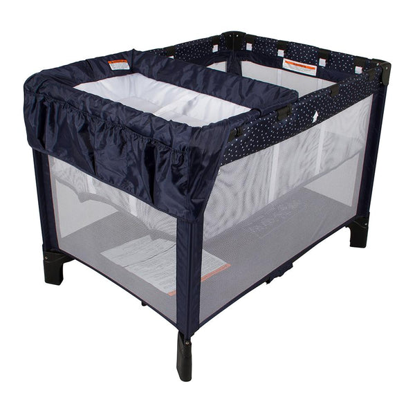 Trio 3 In 1 Travel Cot – In The Navy-Travel Cot-Childcare-Baby Undercover