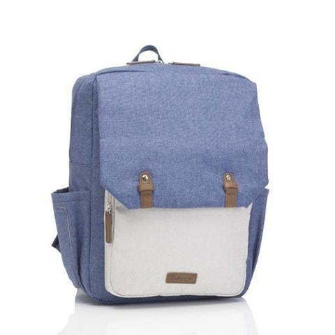 Babymel George Backpack Blue / Oatmeal
