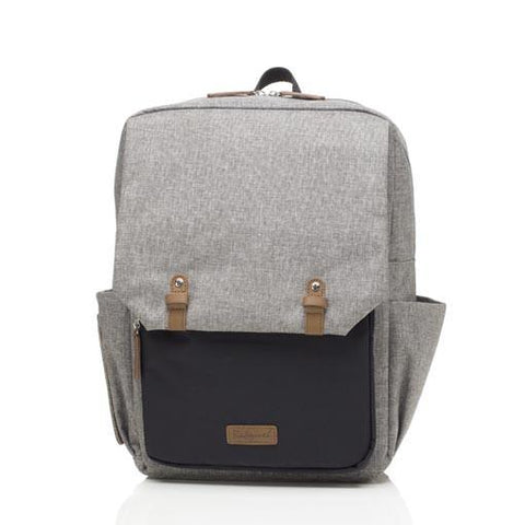 Babymel George Backpack Black / Grey
