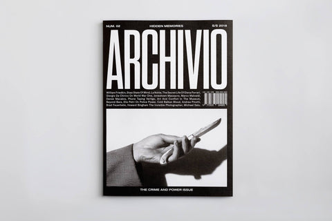 ARCHIVIO - The Crime and Power Issue