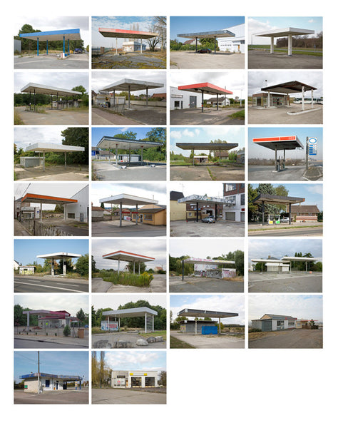 Twenty Six Abandoned Gasoline Stations