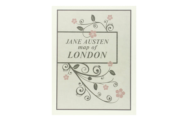 Jane Austen Map of London