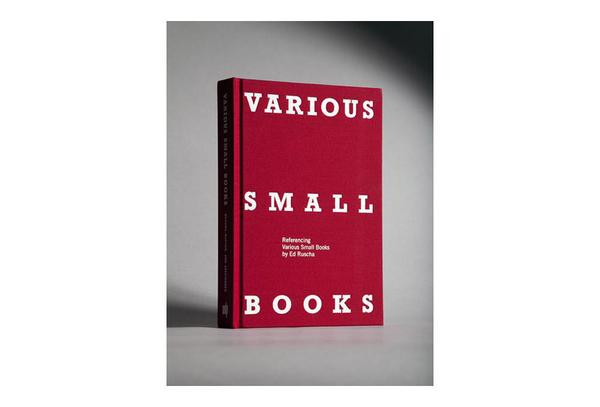 Various Small Books. Referencing Various Small Books by Ed Ruscha