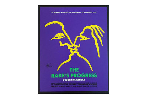 Igor Stravinsky. The rake's progress. 1953