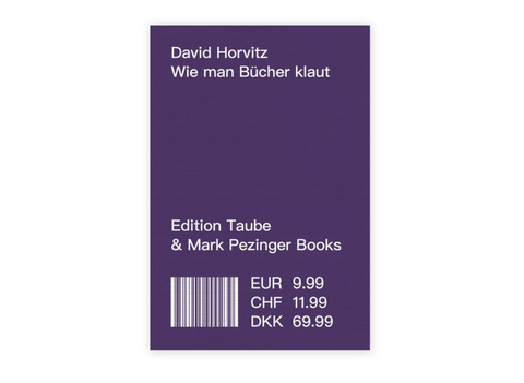 Wie man Bücher klaut (How to shoplift books)