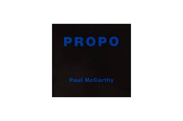 Propo - Objects from performances by Paul McCarthy, 1972-1984