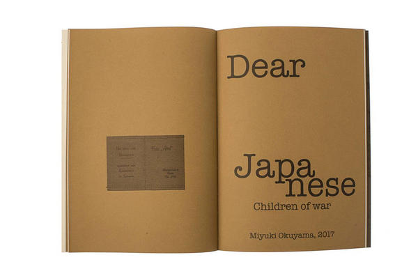 Dear Japanese: Children of War