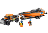 LEGO 60085 City Great Vehicles 4x4 with Powerboat