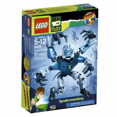 LEGO Ben 10 Alien Force Spidermonkey (8409)