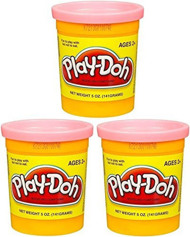 (3 Pack) PEACH (23861) Hasbro Play-Doh 5 oz. (15 oz. total)