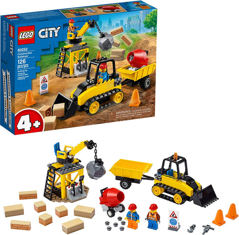LEGO 60252 City Great Vehicles Construction Bulldozer