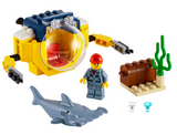 LEGO 60263 City Oceans Ocean Mini-Submarine