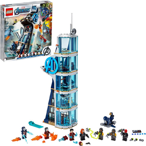LEGO 76166 Marvel Super Heroes Avengers Tower Battle