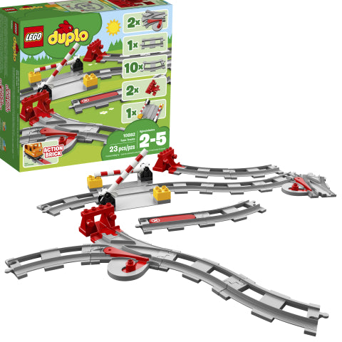 LEGO 10882 DUPLO Train Tracks