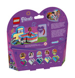 LEGO 41387 Friends Olivia's Summer Heart Box