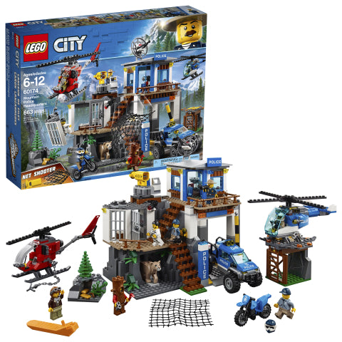 LEGO 60174 City Police Mountain Police Headquarters
