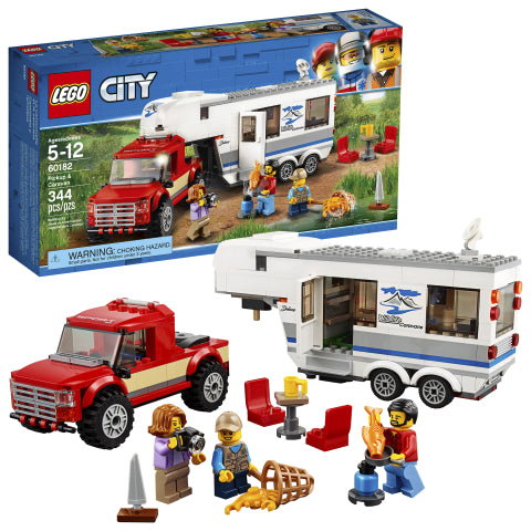 LEGO 60182 City Great Vehicles Pickup & Caravan