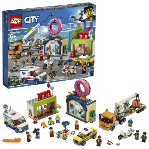 LEGO 60233 City Town Donut Shop Opening