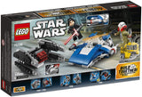 LEGO 75196 Star Wars TM A-Wing™ vs. TIE Silencer™ Microfighters