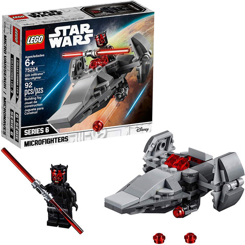 LEGO 75224 Star Wars TM Sith Infiltrator™ Microfighter