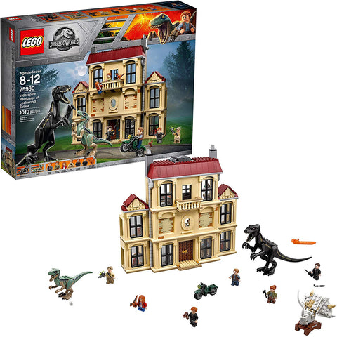 LEGO 75930 Jurassic World Indoraptor Rampage at Lockwood Estate