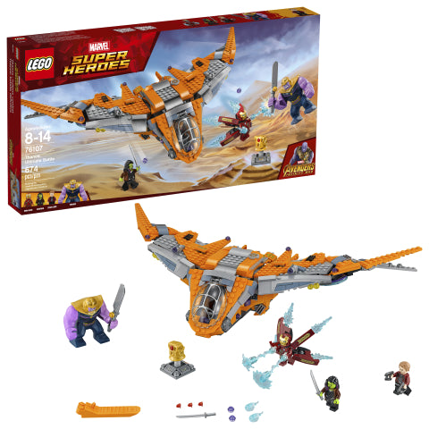 LEGO 76107 Marvel Super Heroes Thanos Ultimate Battle