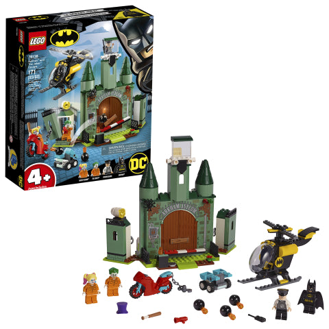 LEGO 76138 DC Comics Super Heroes Batman™ and The Joker™ Escape