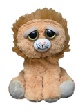 "Feisty Pets by William Mark- Marky Mischief- Adorable 8.5"" Plush Stuffed Lion Bear That Turns Feisty With a Squeeze!"