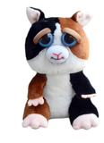 "Feisty Pets by William Mark- Cuddles Von Rumblestrut- Adorable 8.5"" Plush Stuffed Guinea Pig That Turns Feisty With a Squeeze!"