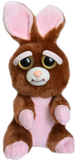 "Feisty Pets by William Mark- Vicky Vicious- Adorable 8.5"" Plush Stuffed Bunny Rabbit That Turns Feisty With a Squeeze!"