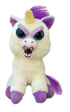 "Feisty Pets by William Mark- Glenda Glitterpoop- Adorable 8.5"" Plush Stuffed Unicorn That Turns Feisty With a Squeeze!"
