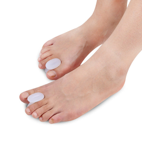Gel Toe Separators with No Loop for Bunions and Corns