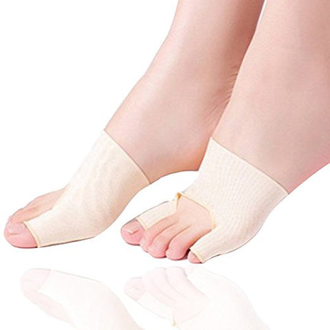 Bunion Relief Bootie Pads Sleeve Toe Straightener Corrector Regulator 2 Booties