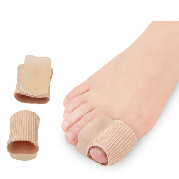 2 Piece Fabric Toe Separators - Bunion Relief Toe Spacer Set