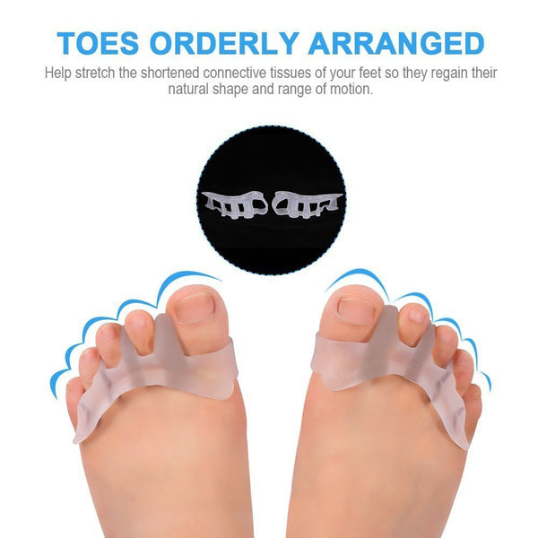 Gel Toe Separator Toe Spacers Toe Stretchers (1 Pair)