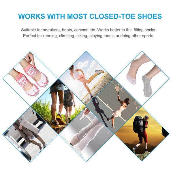 Metatarsal Gel Insoles Ball of Foot Pads Toe Cushions Bunion Sleeves for Mortons Neuroma Pain Relief