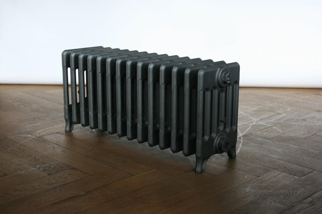 Black vintage radiator - The Architectural Forum