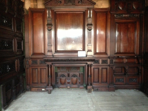 Victorian panelled room