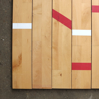 Reclaimed Beech Gymnasium Flooring - 13 W x 2.2 Thickness