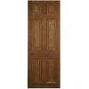 Reclaimed Mahogany Georgian Style Door - 206.5cm x 74.5cm - architectural-forum