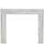 Norwegian White Jade Marble Fireplace Surround - architectural-forum