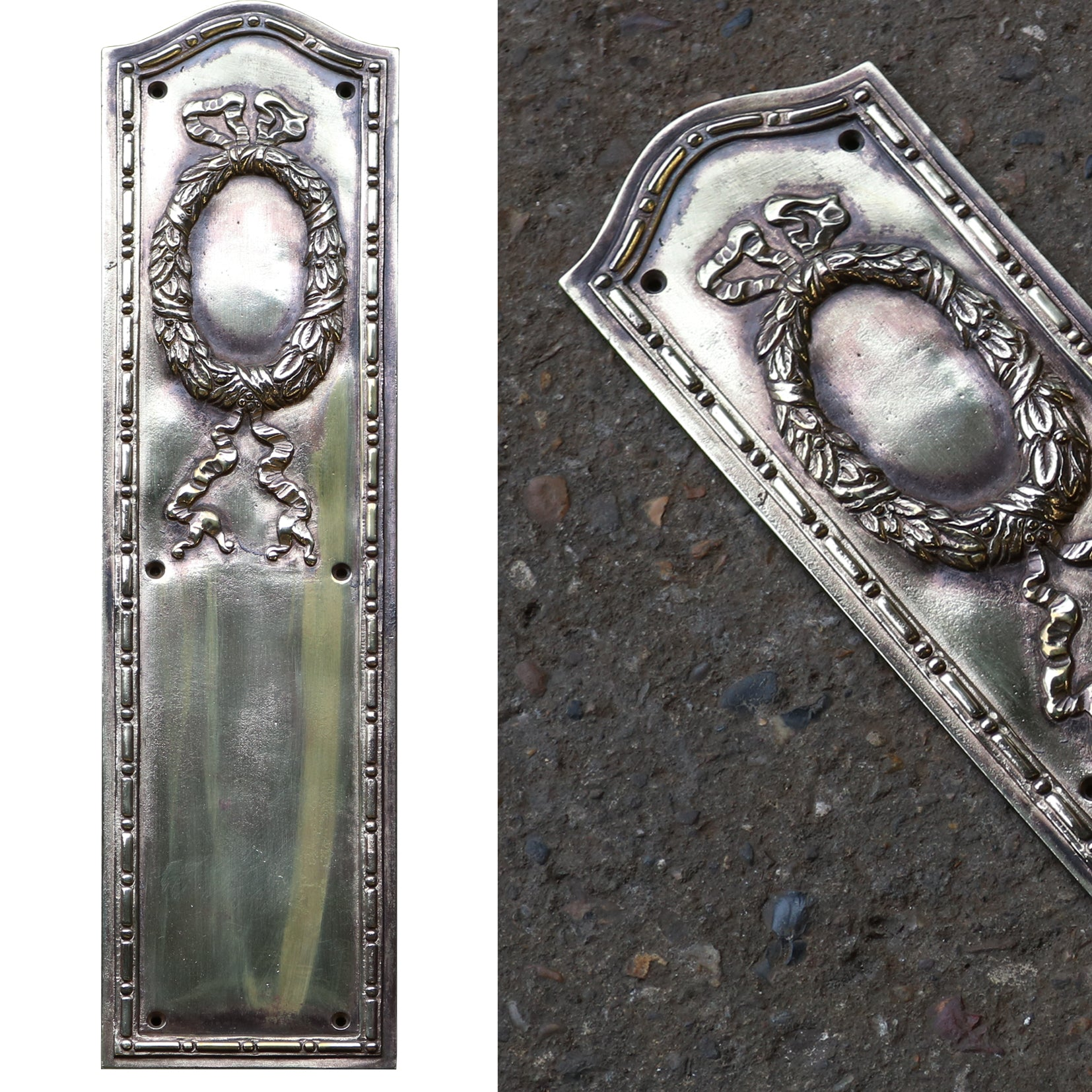 Victorian Brass Finger Plates - architectural-forum
