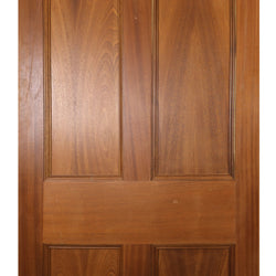 reclaimed solid wood door