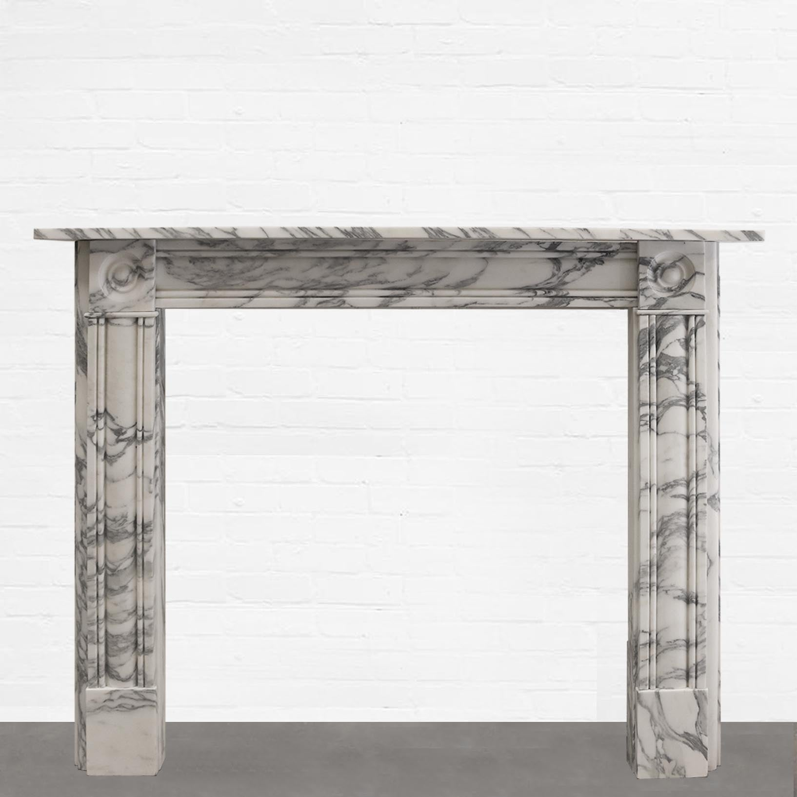 Georgian Style Marble Fireplace Surround - The Architectural Forum