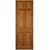 Reclaimed Mahogany Georgian Style Door 207.5cm x 75cm - architectural-forum